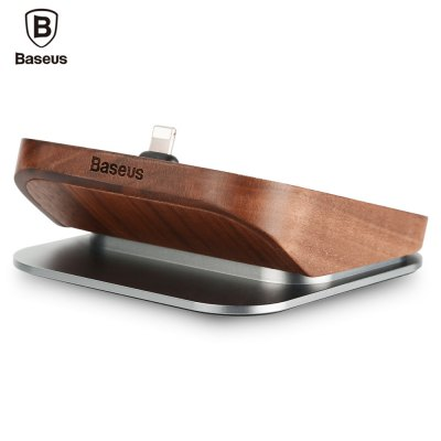 Baseus Duowood 8 Pin Charging Sync Dock for iPhone