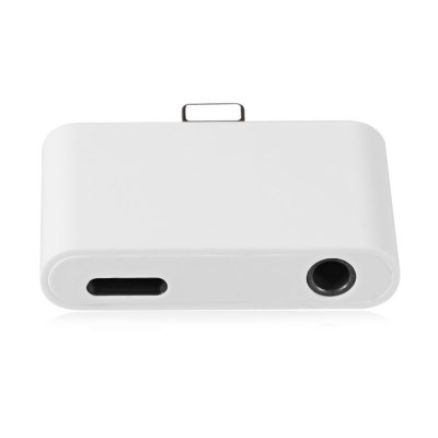 2 in 1 8 Pin to 3.5mm Audio Interface Charging Converter for iPhone 7 / 7 Plus