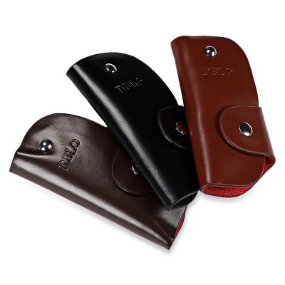 DIBAOLEIOU Solid Color Letter Print Leather Car Keys RingCoin Purse &amp; Card Holder<br>DIBAOLEIOU Solid Color Letter Print Leather Car Keys Ring<br><br>Closure Type: Hasp<br>Color: Dark Coffee, Light Coffee, Black<br>Gender: For Men<br>Hardness: Soft<br>Height: 1.3 cm / 0.51 inch<br>Length(CM): 11.3 cm / 4.45 inch<br>Main Material: Leather<br>Package Contents: 1 x Car Key Ring<br>Package size (L x W x H): 11.50 x 6.00 x 1.50 cm / 4.53 x 2.36 x 0.59 inches<br>Package weight: 0.055 kg<br>Pattern Type: Solid<br>Product weight: 0.033 kg<br>Style: Casual<br>Wallets Type: Key Case<br>Width: 5.8 cm / 2.28 inch