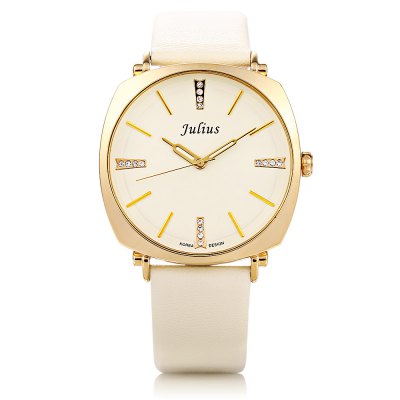 Julius JA - 388M Men Square CaseQuartz WatchCouples Watches<br>Julius JA - 388M Men Square CaseQuartz Watch<br><br>Brand: Julius<br>Watches categories: Male table<br>Watch style: Fashion<br>Movement type: Quartz watch<br>Shape of the dial: Square<br>Display type: Analog<br>Case material: Alloy<br>Band material: Leather<br>Clasp type: Pin buckle<br>Water resistance : 30 meters<br>The dial thickness: 0.7 cm / 0.28 inches<br>The dial diameter: 4 cm / 1.57 inches<br>The band width: 2 cm / 0.79 inches<br>Wearable length: 17.5 - 21.5 cm / 6.89 - 8.46 inches<br>Product weight: 0.040 kg<br>Package weight: 0.100 kg<br>Product size (L x W x H): 24.00 x 4.00 x 0.70 cm / 9.45 x 1.57 x 0.28 inches<br>Package size (L x W x H): 8.50 x 8.50 x 7.00 cm / 3.35 x 3.35 x 2.76 inches<br>Package Contents: 1 x Julius JA - 388M Men Leather Quartz Watch