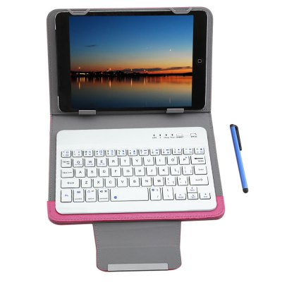 3 in 1 Bluetooth 4.0 Keyboard Tablet Protective Case 7 / 8 inch
