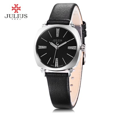 Julius JA - 388L Ladies Leather Quartz Watch