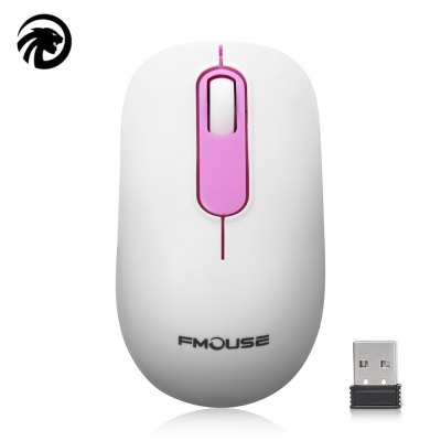 FMOUSE 2.4GHz Wireless Ergonomic Design Mouse