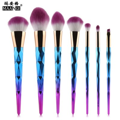 MAANGE 7pcs Makeup Cosmetic Brushes Set