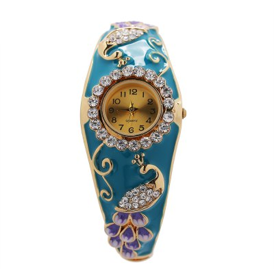 Women Chinoiserie Style Quartz Watch
