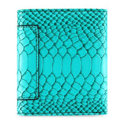 Snake Print PU Leather Short Wallet for Women