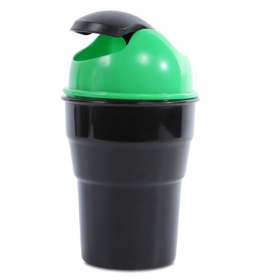 Mini Car Garbage Can Storage Garbage Trash Basket