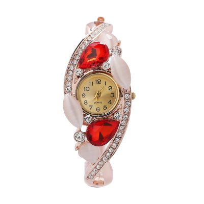 Women Shiny Rhinestone Quartz Watch