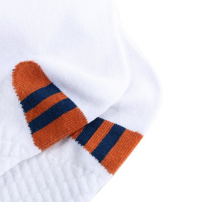 Paired Male Middle Height Cotton Breathable Sport Socks