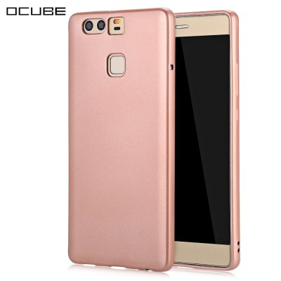 OCUBE 360 Degree Soft TPU Back Case for HUAWEI P9 5.2 inch