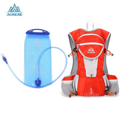 AONIJIE 12L Unisex Sports Backpack with 2L Water Bag