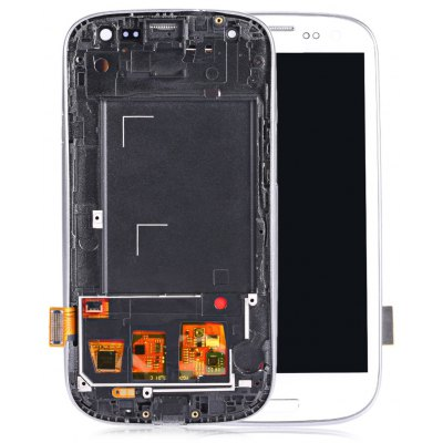Replacement LCD Screen Digitizer Frame for Samsung S3 I9300