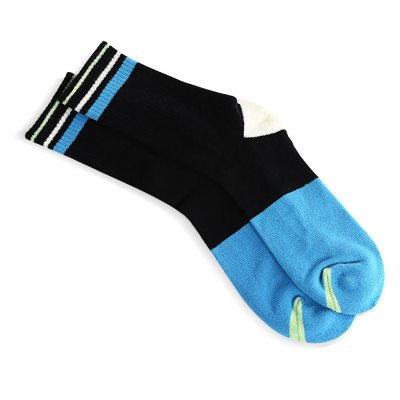 Paired Men Sport Breathable Cotton Thickening Socks