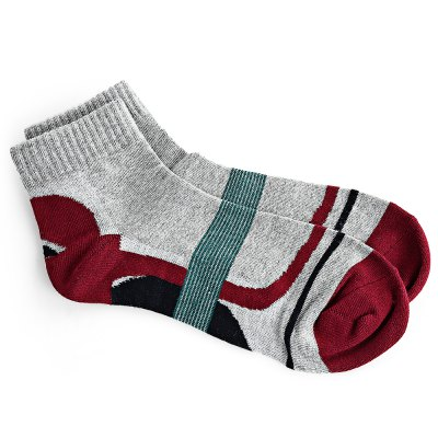 Paired Men Sport Thickening Cotton Socks