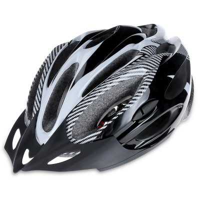 Integrally Molded Cycling Helmet