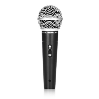 WEISRE M - 58 Wired Capacitance Microphone Noise Canceling Mic
