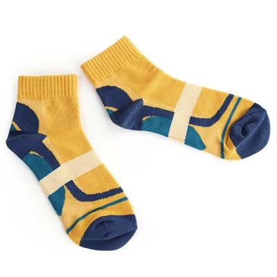 Paired Men Sport Cotton Socks