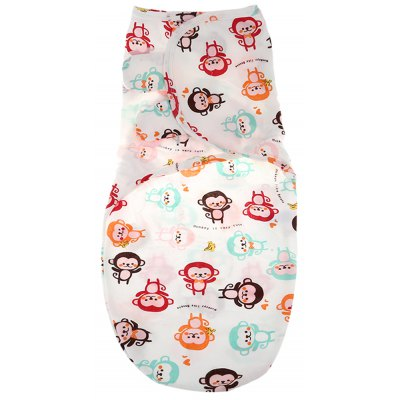 Cartoon Printed Baby Blankets Wrap Cloth