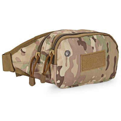 Camp Travel Shoulder Crossbody Waist Bag for MenWaist Packs<br>Camp Travel Shoulder Crossbody Waist Bag for Men<br><br>Closure Type: Zipper<br>External Material: Oxford<br>Gender: For Men<br>Handbag Type: Waist Bag<br>Internal Material: Oxford<br>Package Contents: 1 x Bag<br>Package size (L x W x H): 32.50 x 7.00 x 14.50 cm / 12.8 x 2.76 x 5.71 inches<br>Package weight: 0.170 kg<br>Pattern Type: Print<br>Product size (L x W x H): 32.00 x 6.50 x 14.00 cm / 12.6 x 2.56 x 5.51 inches<br>Product weight: 0.149 kg<br>Style: Casual