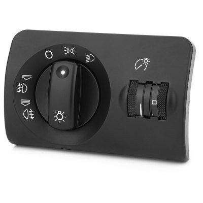 Automobile Head Lamp Power Control Switch Button for Audi
