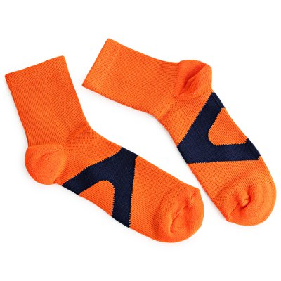 Paired Cotton Sock for Climbing Tennis Basketball Badminton