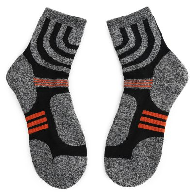 Paired Men Cotton Towel Sock for Tennis Basketball