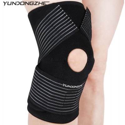 YUNDONGZHE Outdoor Wrap Knee Support Protector Pad