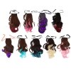 Strap Type Gradient Mixed Colors Synthetic Wig Ponytail deal