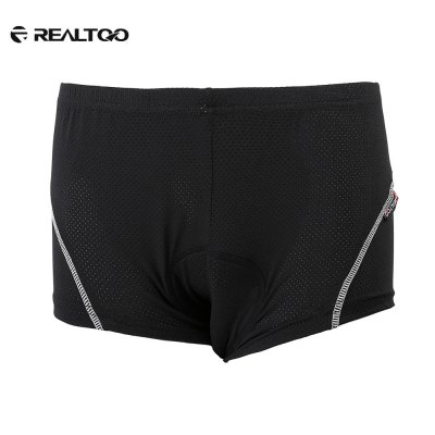 REALTOO Outdoor Silica Gel Padded Men Bicycle Shorts