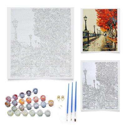 Autumn Love DIY Digital Oil Painting Art Wall DecorOil Paintings<br>Autumn Love DIY Digital Oil Painting Art Wall Decor<br><br>Frame: No<br>Package Contents: 1 x Oil Painting Set<br>Package Size(L x W x H): 25.00 x 9.00 x 4.00 cm / 9.84 x 3.54 x 1.57 inches<br>Package weight: 0.2300 kg<br>Product Size(L x W x H): 40.00 x 50.00 x 0.10 cm / 15.75 x 19.69 x 0.04 inches<br>Product weight: 0.2080 kg<br>Technics: Hand Painted<br>Type: Oil Paintings