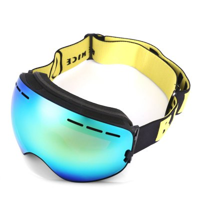 BENICE Unisex Anti-fog UV400 Goggles GlassesSki Goggles<br>BENICE Unisex Anti-fog UV400 Goggles Glasses<br><br>Gender: Men,Women<br>Lens height: 9.5cm<br>Lens width: 22.5cm<br>Package Contents: 1 x Snowboarding Goggles, 1 x Bag, 1 x Bilingual Manual in English and Chinese<br>Package Size(L x W x H): 23.00 x 10.00 x 5.00 cm / 9.06 x 3.94 x 1.97 inches<br>Package weight: 0.1900 kg<br>Product Size(L x W x H): 22.50 x 9.50 x 4.50 cm / 8.86 x 3.74 x 1.77 inches<br>Product weight: 0.1640 kg