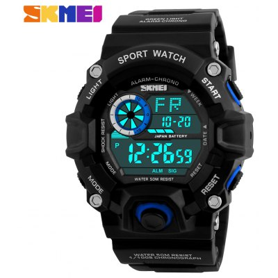 Skmei 1019 Military LED Watch