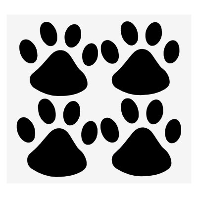 Animal Paws Decal