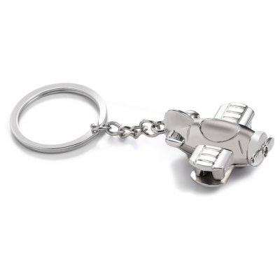 Metal Screw Propeller Keyring