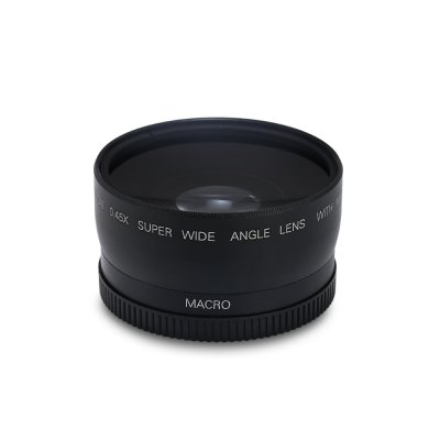 58MM 0.45X HD Wide Angle Macro Camera Lens