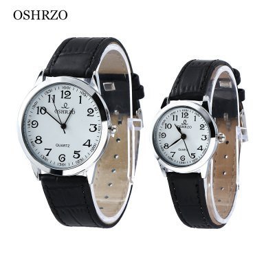 OSHRZO os8039p1 Couple Quartz Watch