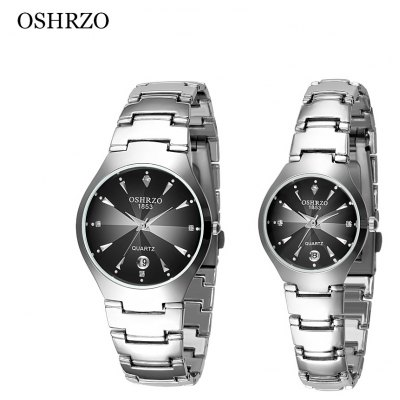 OSHRZO os8015g1 Couple Quartz Watch