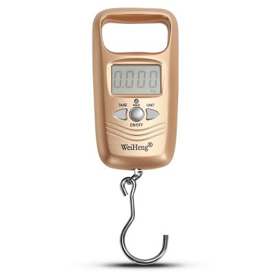 WeiHeng WH-A17L 10g / 50kg Mini Electronic Hanging Scale