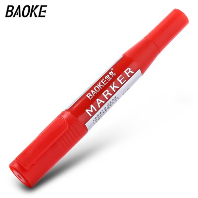 Baoke MP - 210 12pcs Twin Tip Fine Broad Point Pen Marker