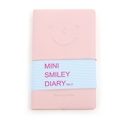 Multicolor Leather Cute Smile Face NotebookNotebooks &amp; Pads<br>Multicolor Leather Cute Smile Face Notebook<br><br>Product weight: 0.045 kg<br>Package weight: 0.070 kg<br>Product size (L x W x H): 13.00 x 8.00 x 5.00 cm / 5.12 x 3.15 x 1.97 inches<br>Package size (L x W x H): 14.00 x 10.00 x 6.00 cm / 5.51 x 3.94 x 2.36 inches<br>Package Contents: 1 x Notebook