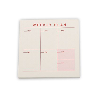 3 Type Business Office To-do List Notebook Notepad