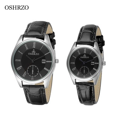 OSHRZO os8012p1 Couple Quartz Watch