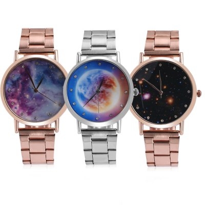 Fashion Male Quartz Watch Starry Sky Pattern DialMens Watches<br>Fashion Male Quartz Watch Starry Sky Pattern Dial<br><br>Band Length: 9.06 inch<br>Band Material Type: Stainless Steel<br>Band Width: 20mm<br>Case material: Alloy<br>Case Shape: Round<br>Clasp type: Folding Clasp<br>Dial Diameter: 1.65 inch<br>Dial Display: Analog<br>Dial Window Material Type: Glass<br>Gender: Men<br>Movement: Quartz<br>Package Contents: 1 x Watch<br>Package Size(L x W x H): 13.00 x 5.50 x 2.00 cm / 5.12 x 2.17 x 0.79 inches<br>Package weight: 0.089 kg<br>Product Size(L x W x H): 23.00 x 4.50 x 1.00 cm / 9.06 x 1.77 x 0.39 inches<br>Product weight: 0.067 kg<br>Style: Fashion &amp; Casual