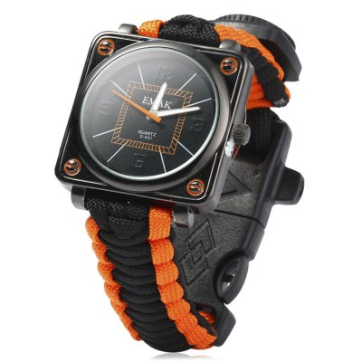 EMAK Survival Bracelet Watch