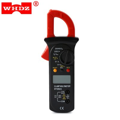 WHDZ DT202C Digital Clamp Meter