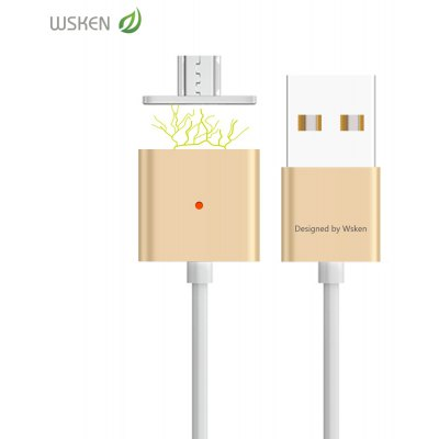 WSKEN Magnetic Data Charge Wire Micro USB Connector
