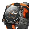 EMAK Survival Bracelet Watch deal