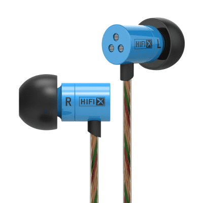 KZ HDS1 3.5MM Wired Noise Canceling In-ear Earphones Stereo Headphones with Mic