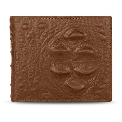 Guapabien Animal Pattern Solid Color Open Horizontal Wallet