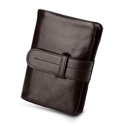Guapabien Solid Color Belt Head Layer Cowhide Short WalletWallets<br>Guapabien Solid Color Belt Head Layer Cowhide Short Wallet<br><br>Closure Type: Belt<br>Gender: For Men<br>Hardness: Soft<br>Height: 12.1cm / 4.76inch<br>Interior: Interior Slot Pocket<br>Length(CM): 9.2cm / 3.62inch<br>Main Material: Leather<br>Package Contents: 1 x Wallet<br>Package size (L x W x H): 9.70 x 2.40 x 12.60 cm / 3.82 x 0.94 x 4.96 inches<br>Package weight: 0.0750 kg<br>Pattern Type: Solid<br>Product weight: 0.0640 kg<br>Style: Vintage<br>Wallets Type: Clutch Wallets<br>Width: 1.9cm / 0.75inch